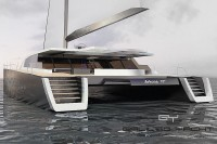 bateau Arkona 77' multicoque voile - design Luc Simon (architecte naval).