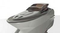 le Montara 68' monocoque moteur : beauté, confort, efficacité et sécurité. par le cabinet d'architecture navale Galiléo Yacht Simon.