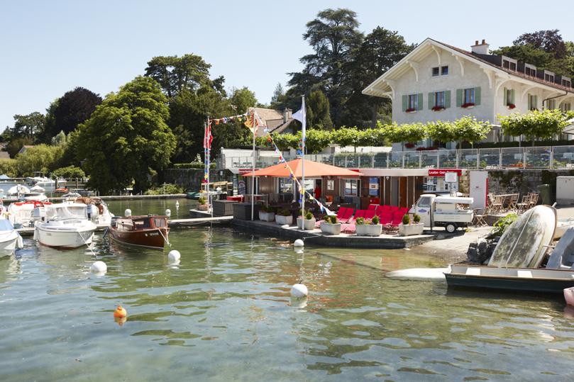 Pronaval SA : port et maina de la Belotte - groupe Simon, Genève