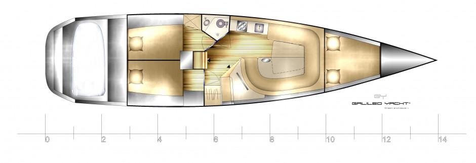 Arkona Mono Voile 46-Plan d'aménagement