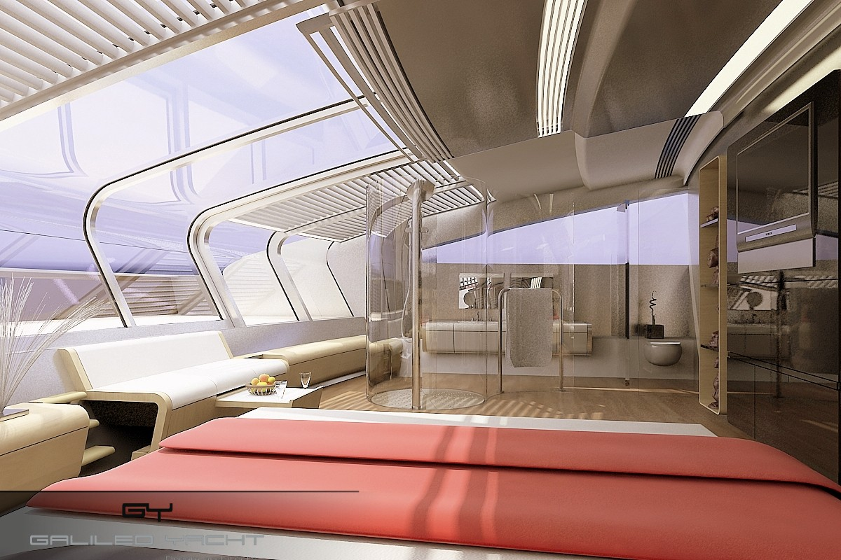 Design et int rieur de yacht luc simon for Architecture et design interieur