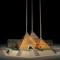 Projet pour une clinique en forme de pyramide à Dubai - Luc Simon, designer