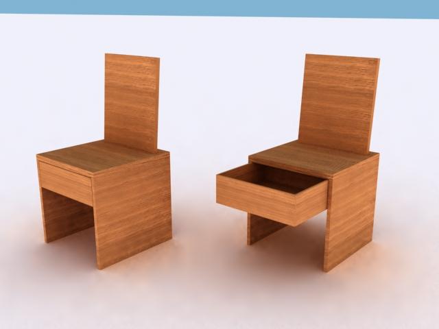 Projet de mobilier pour un chalet dans le Valais (Suisse) - Luc Simon designer