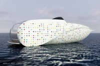 Le Montara 29', bateau futuriste, yacht design par les architectes navals Simon & Dodelande