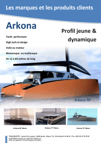 Présentation Arkona yacht - Luc Simon, Genève