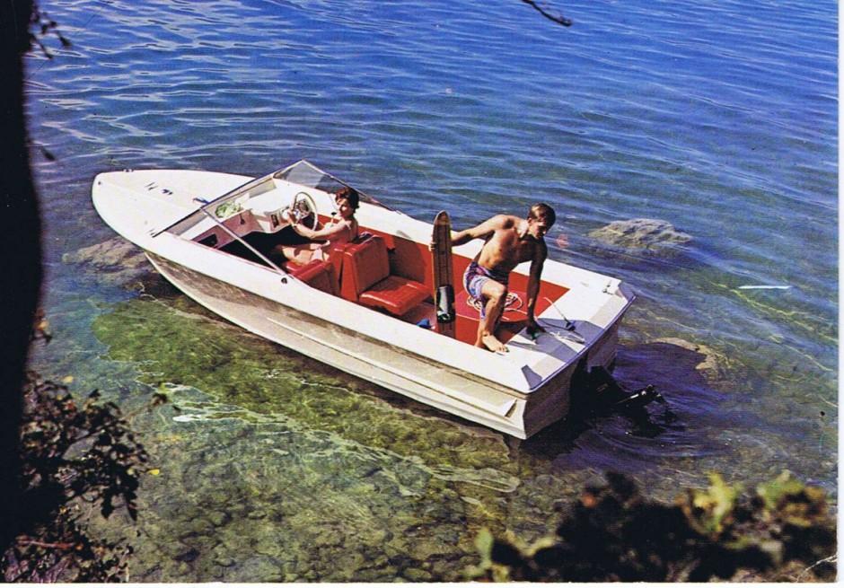 Savoie Marine - Etoile Filante carte postale