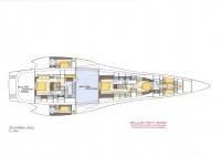 Le Montara 132' trimaran rapide par Luc Simon et Gilles Vaton