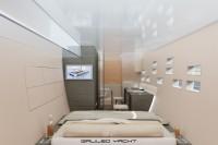 Design intérieur Arkona yacht 67' : mobilier de la cabine
